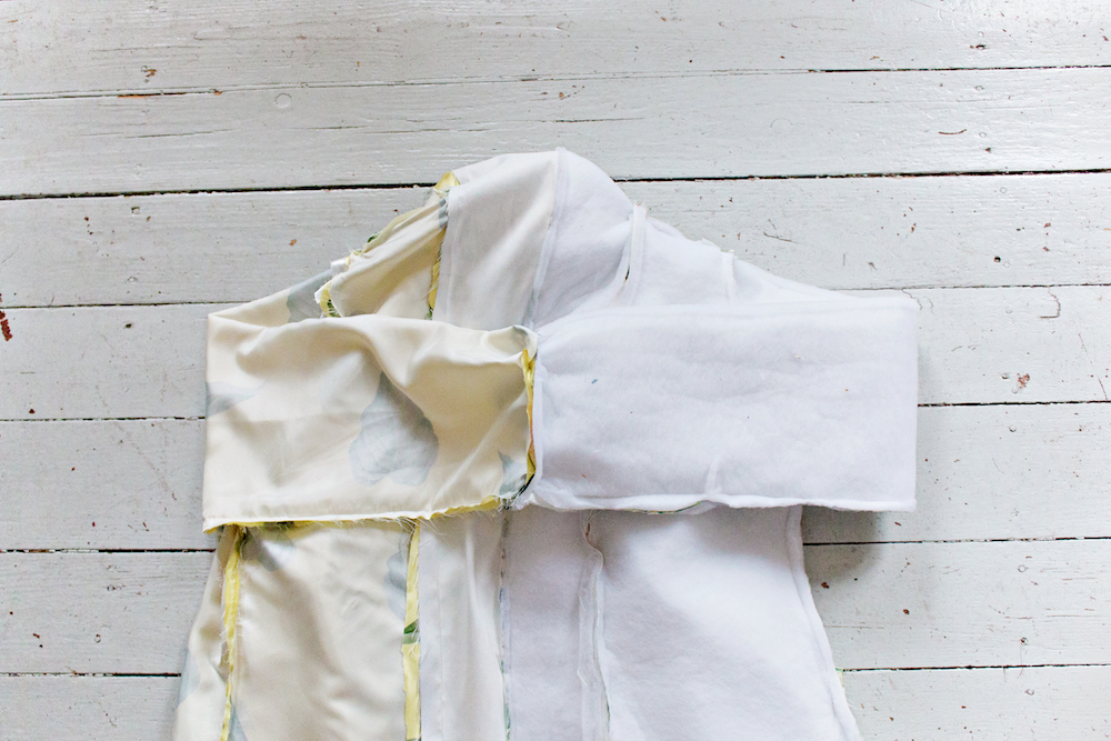 SEWING DIY | How to Make a Robe Coat in 30 Steps Without a Sewing Pattern 25