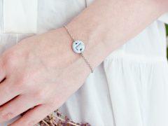 DIY | Clay Initial Bracelet