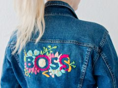 FEATURE | EMBROIDERED DENIM JACKET DIY