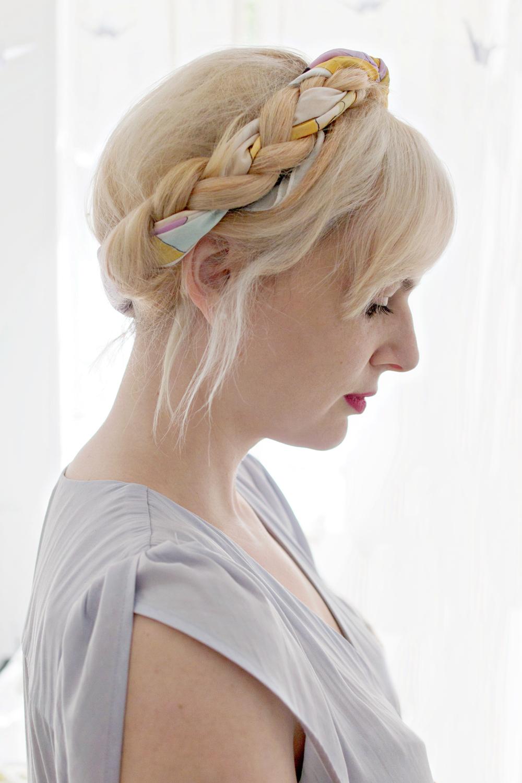 HAIR DIY VIDEO | Braided Scarf Hairstyle