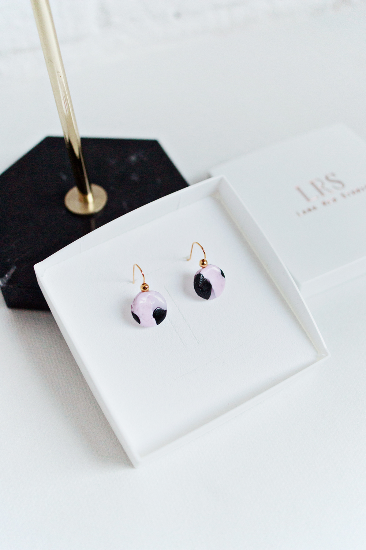 DIY | Minimal Clay Heart Earrings