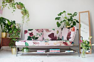RESTYLE DIY | Custom Sofa Fabric Design: Before / After