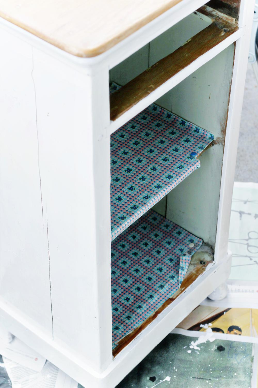DIY   Upcycled Vintage Cupboard