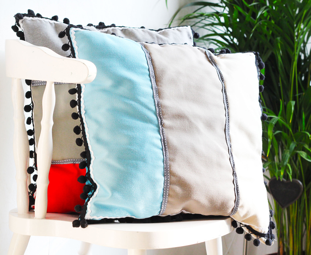 DIY | Modern Patchwork Pillow