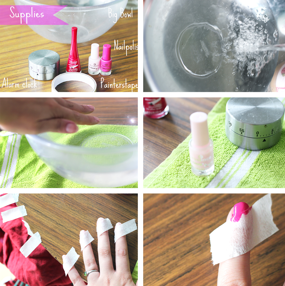 NAIL DIY | Striped colours
