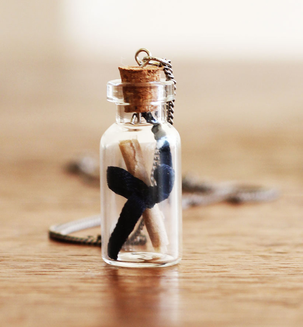 DIY | Bottle Necklace