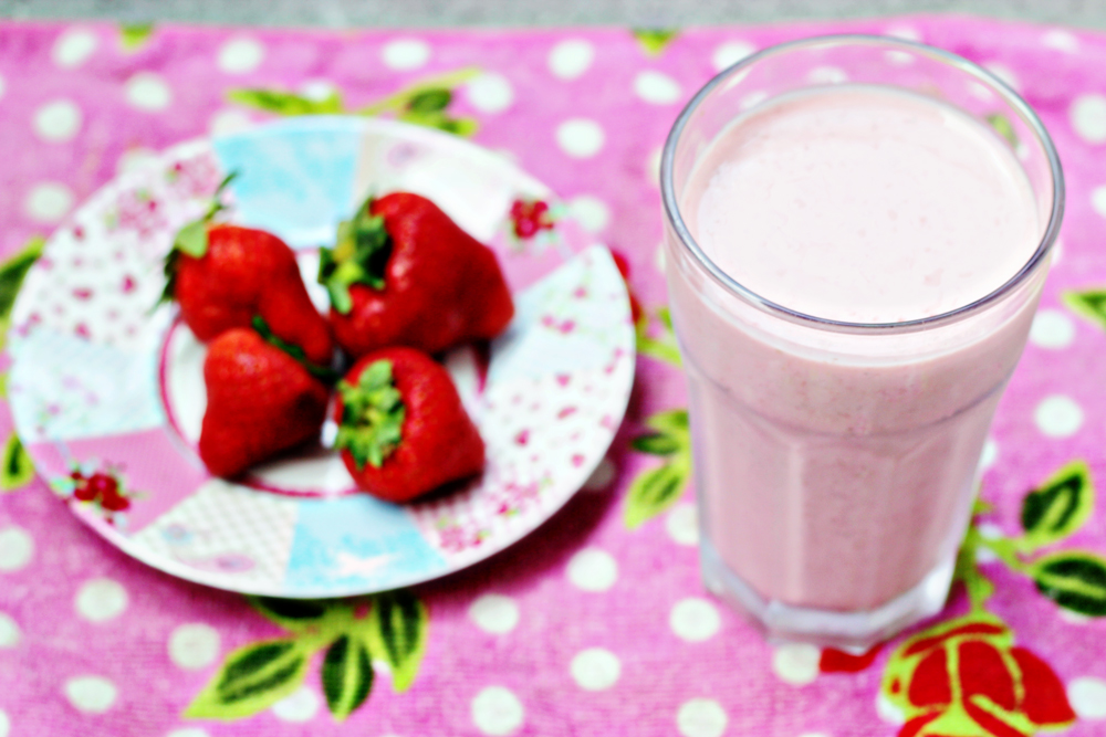RECIPE | Strawberry Smoothie