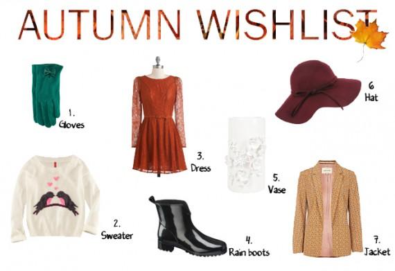 Autumn Wishlist
