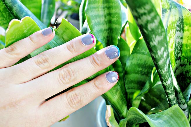 DIY | Color Striped Nails
