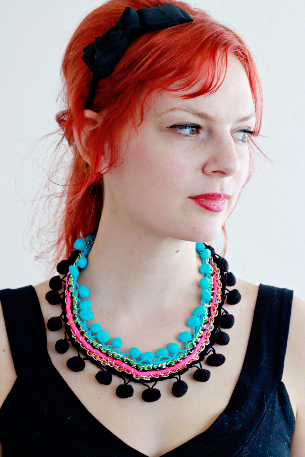 DIY | Pom Necklace