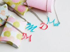 Name Necklace DIY