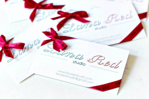 DIY | Business Card Upcycle