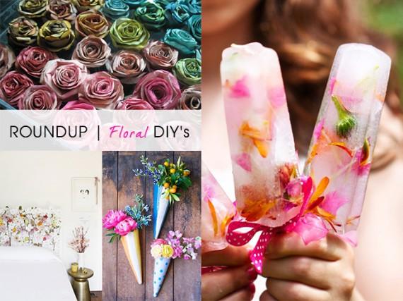 ROUNDUP | Floral DIY's