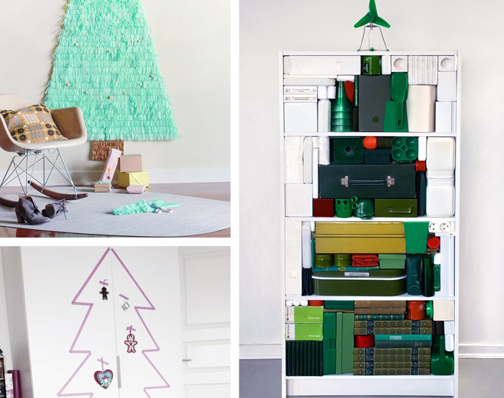 CHRISTMAS | 15 Alternative Christmas Tree Ideas