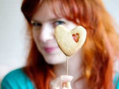 RECIPE | Heart Shaped Candy Cookies