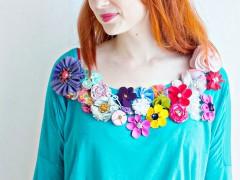 FEATURE | Mollie Makes Floral Top