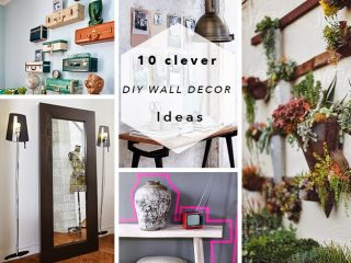 DIY ROUNDUP | 10 Clever DIY Wall Decor Ideas
