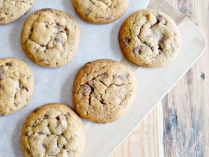 RECIPE   Peanut Butter Chocolate Chip Cookies