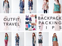OUTFIT / TRAVEL | Backpack Packing Tips