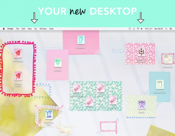 TECH | Custom Desktop Icons and Wallpaper