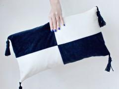 DIY | Colour Block Cushion Cover
