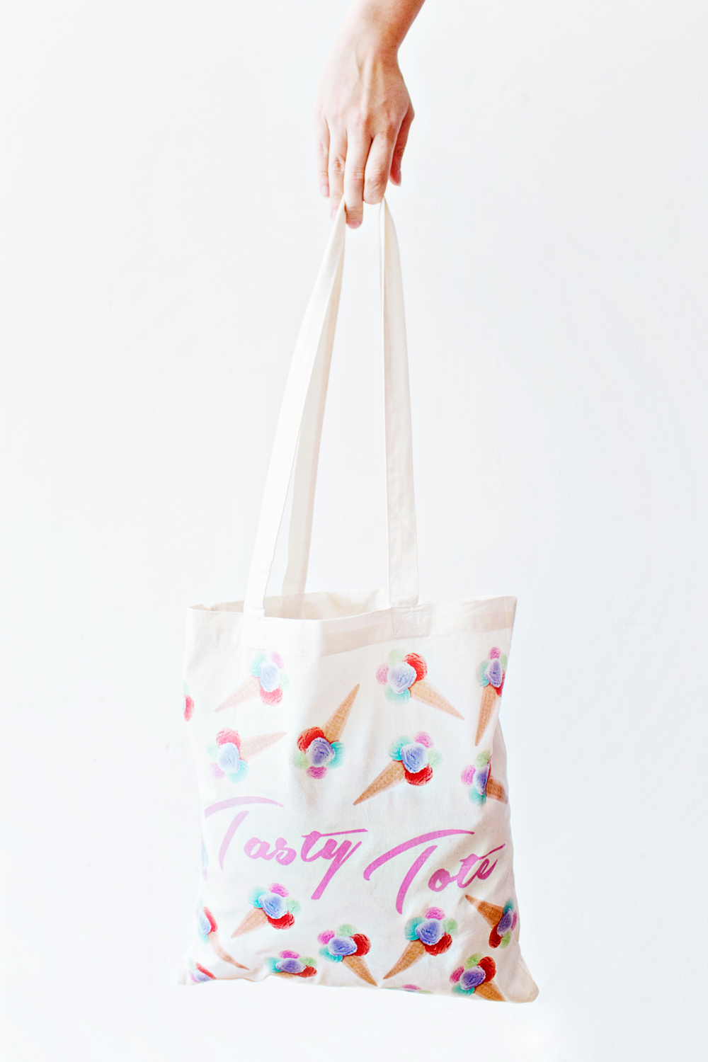 DIY Ice Cream Tote