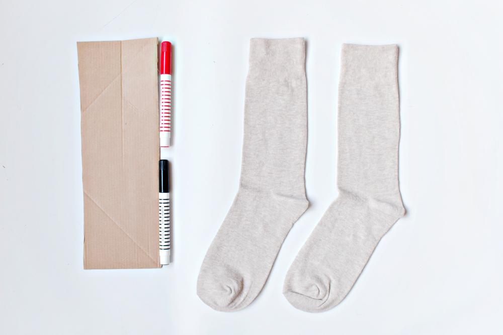 DIY Personalised Socks