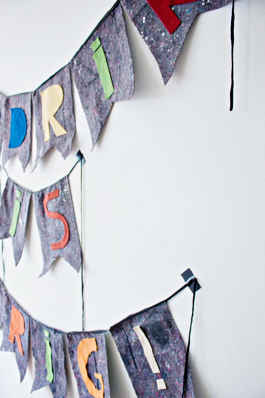 DIY | Fabric Banner
