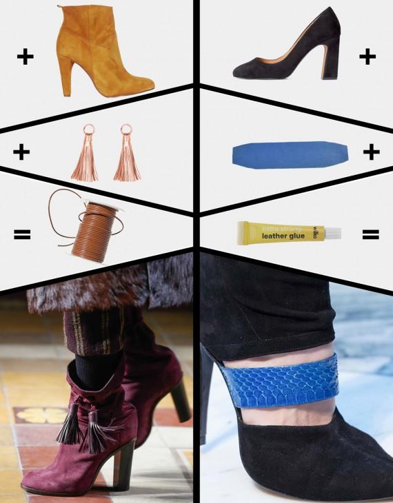 DIY INSPIRATION | Do It Yourself Designer Shoes