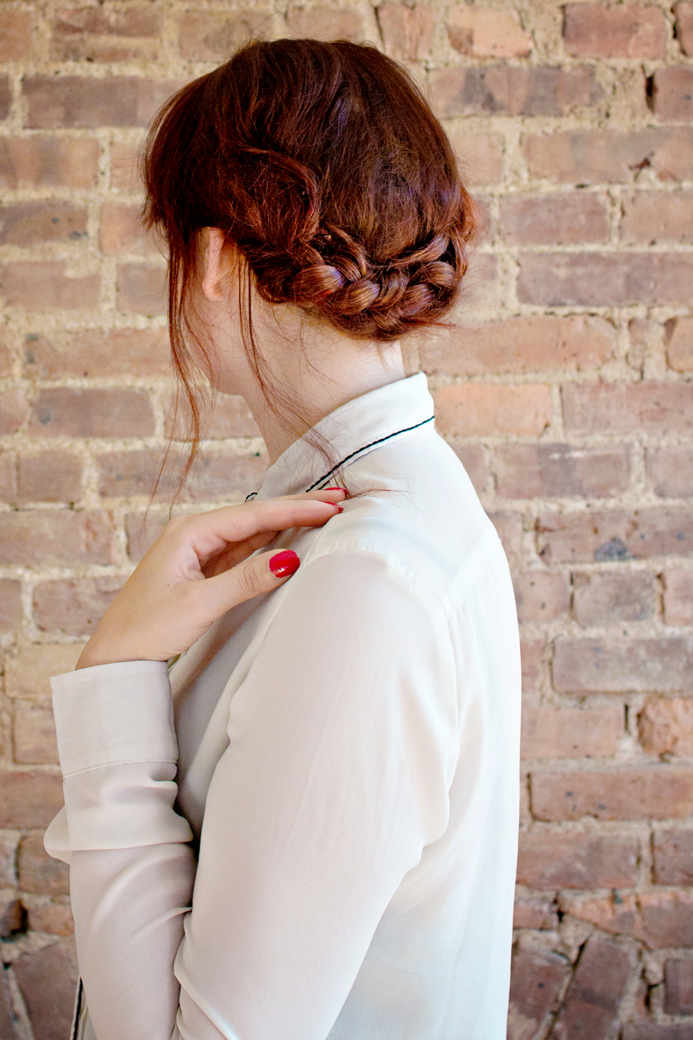 HAIR DIY | Low Braided Bun