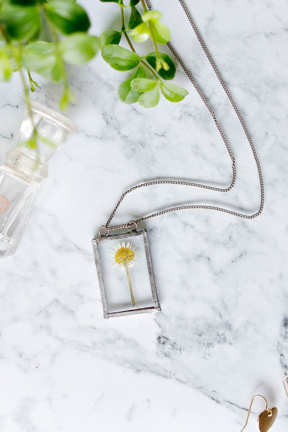Advanced diy soldered flower necklace aloadofball Image collections
