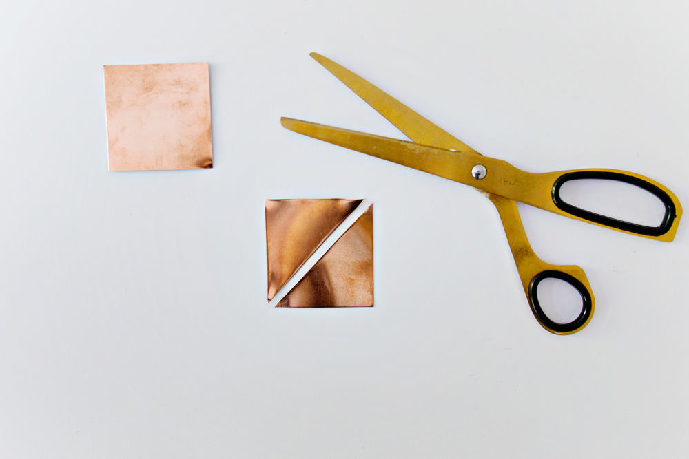 DIY | Copper Origami Brooch
