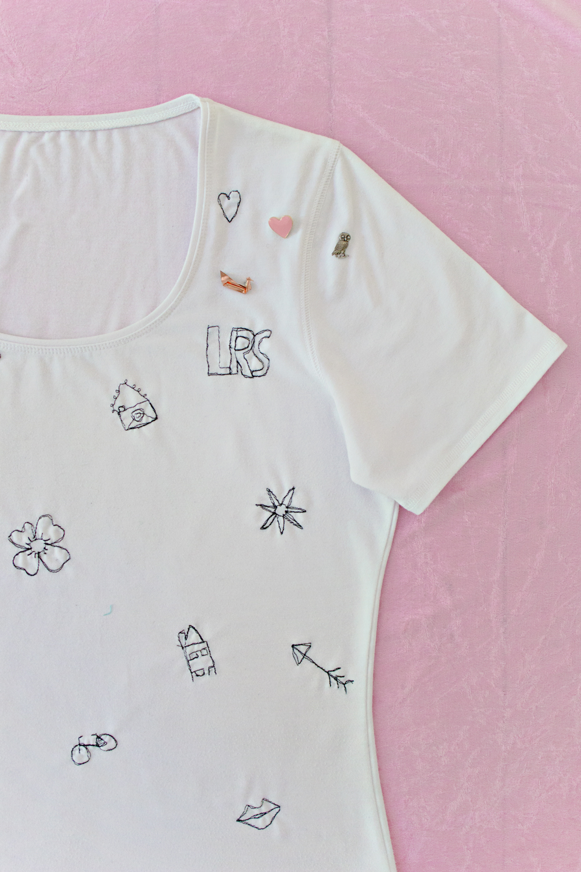 DIY | Doodle Stitch Shirt