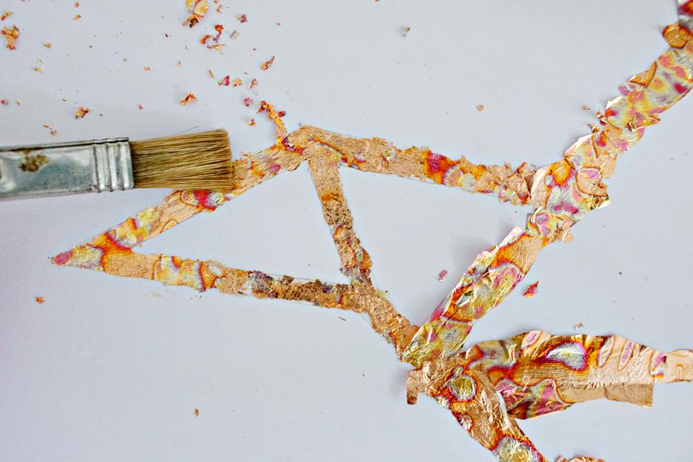 DIY ART | Copper Leafing