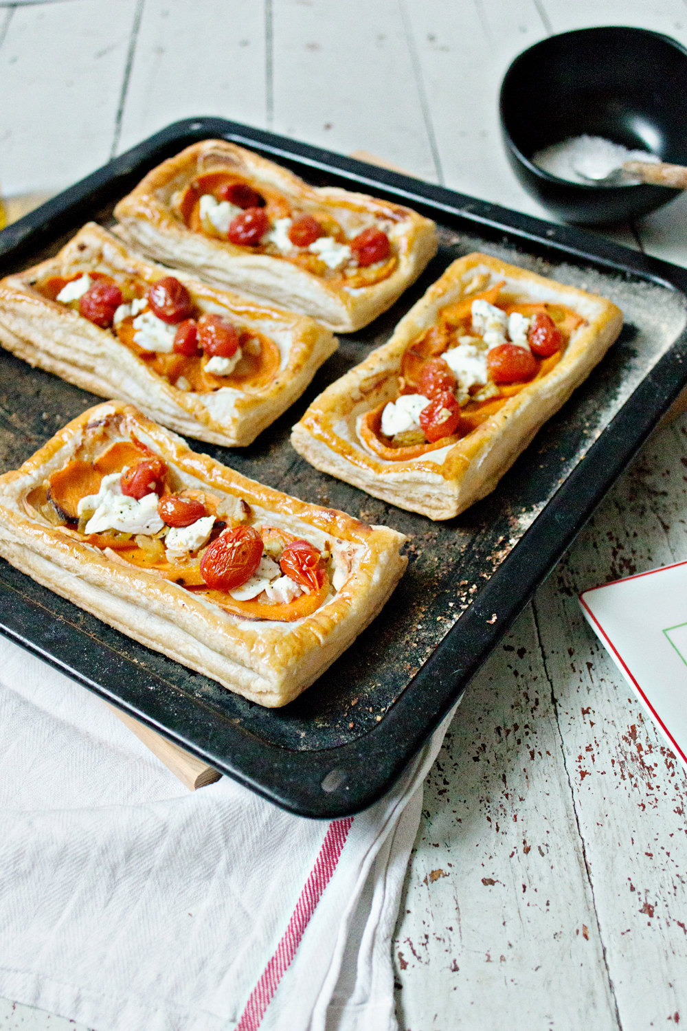 RECIPE | Sweet Potato & Goat's-Cheese Tart