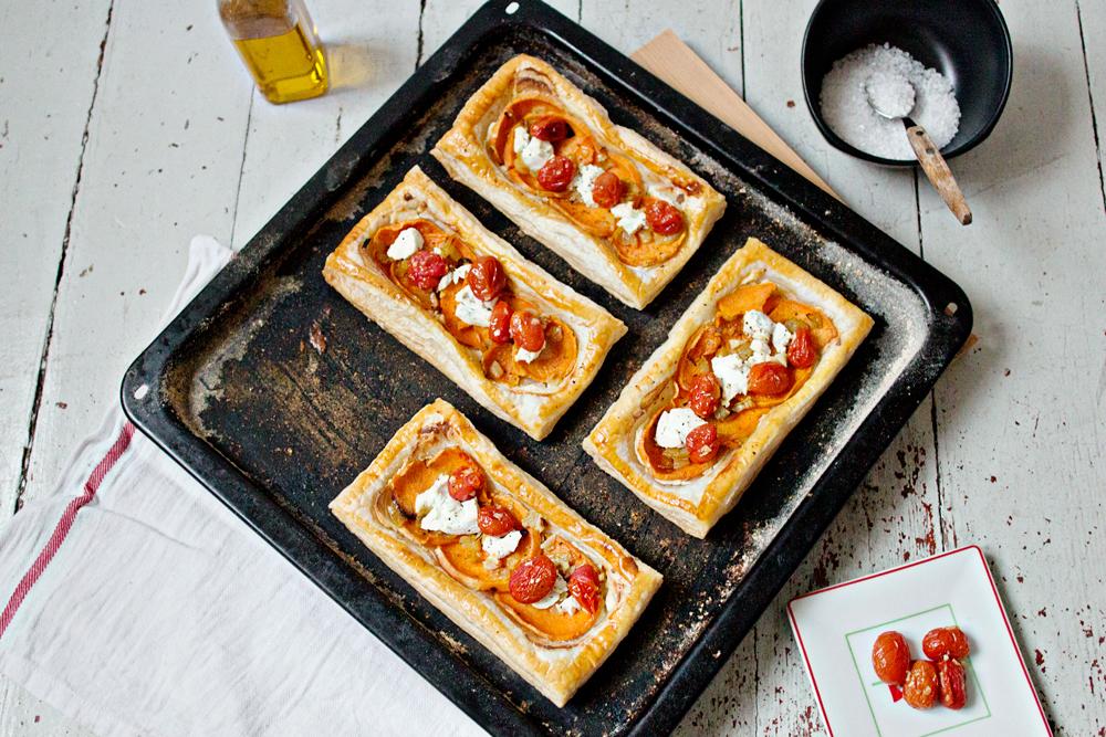 RECIPE | Sweet Potato & Goat's-Cheese Tart