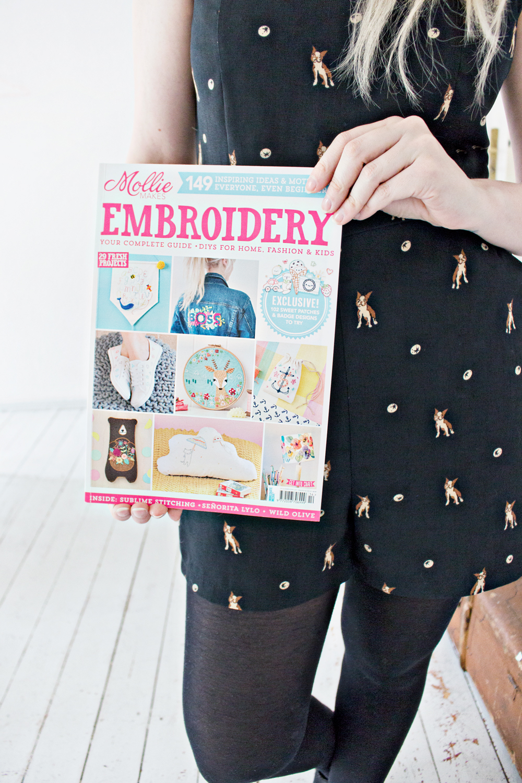 Feature Embroidered Denim Jacket Diy