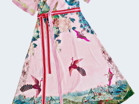 SEWING DIY   Cut and Sew Wrap Dress