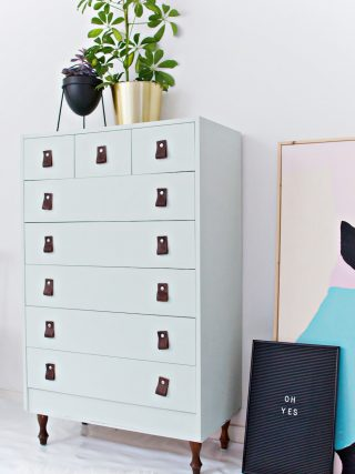 DIY | How to Restyle a Plain Cupboard