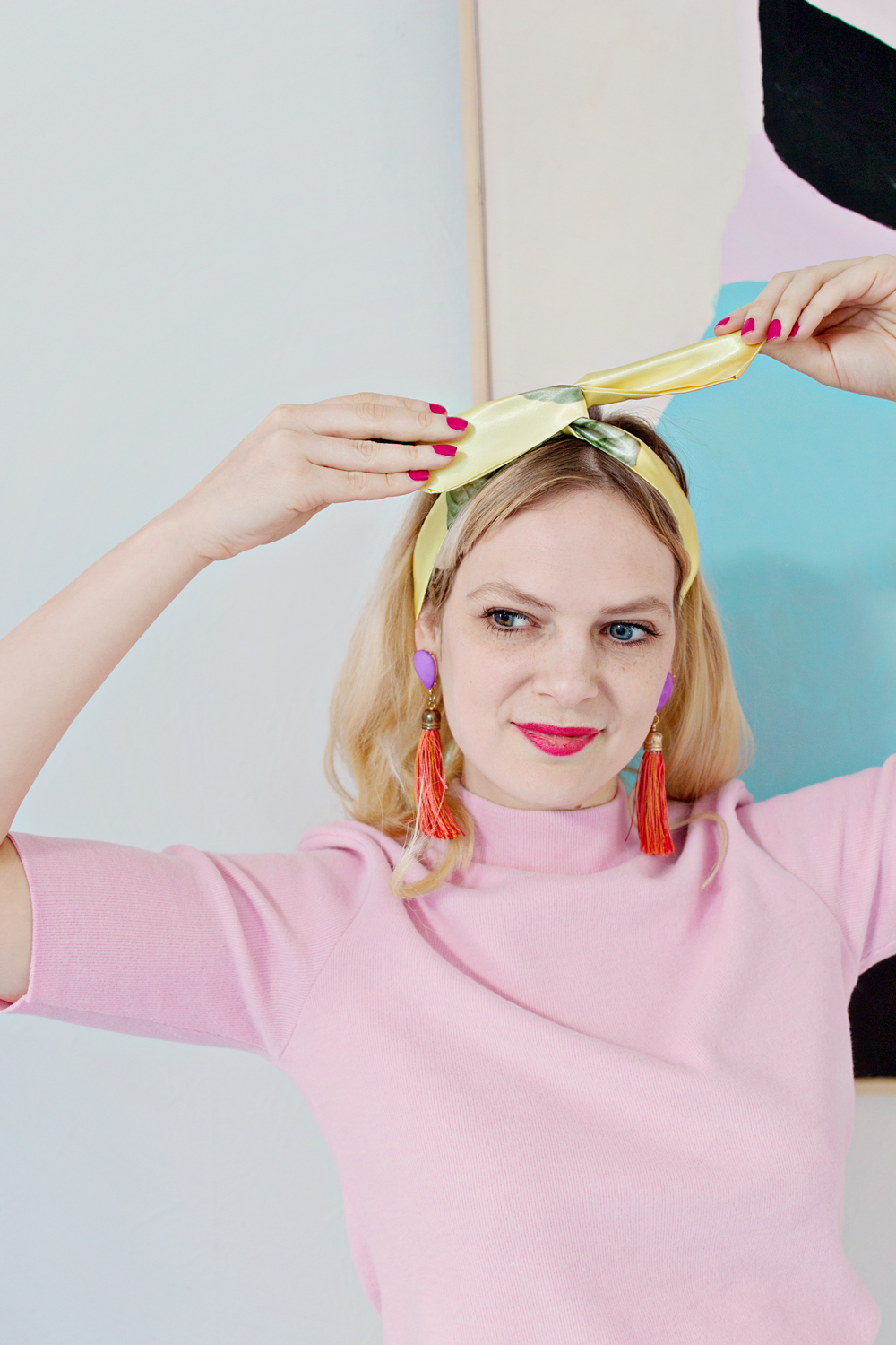 DIY | No-Sew Wire Headband