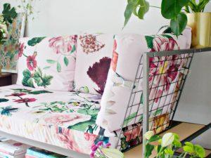 RESTYLE DIY | Custom Sofa Fabric Design