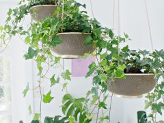 HANGING PLANTER DIY   From Sifter to Planter
