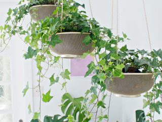 HANGING PLANTER DIY | From Sifter to Planter