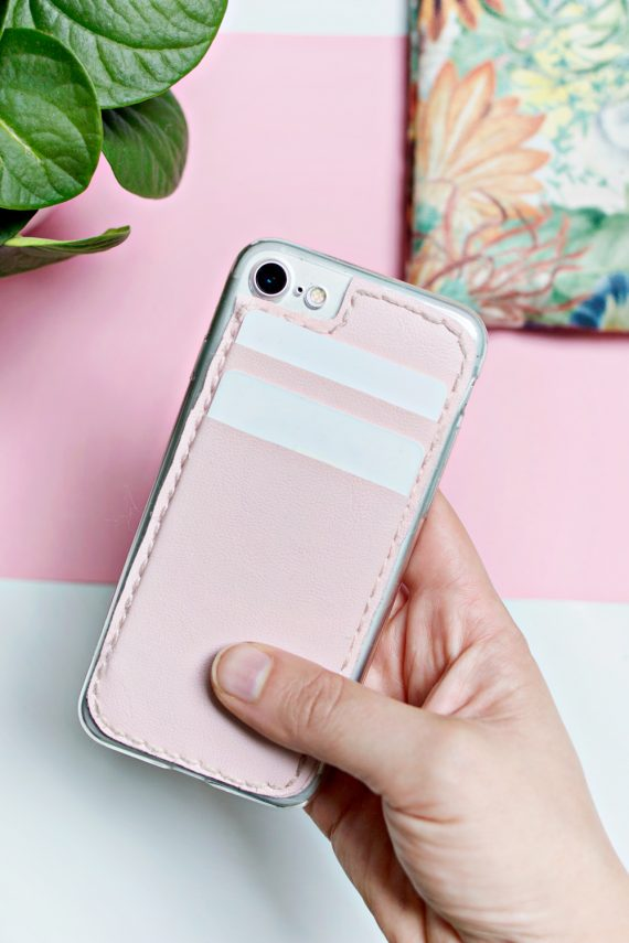 DIY | Card Holder Phone Case